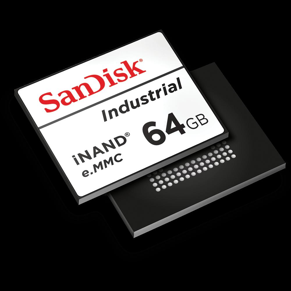 Unidades flash integradas iNAND® de SanDisk